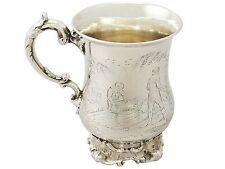 Antique Victorian Sterling Silver Mug by Edward, John & William Barnard