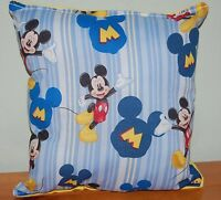 Mickey Mouse Pillow Classic Mickey Mouse Disney Pillow HANDMADE in USA