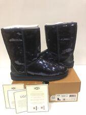 UGG Australia Boots- NIB - Womans Classic Short Sparkles, MIDI (Navy), Size 9