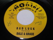 Dale & Grace: Bad Luck / Stop And Think It Over 45