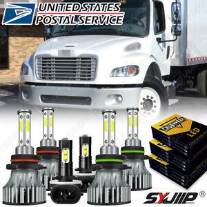 For Freightliner M2 2015-2017 - Front LED Headlight Hi/Lo + Fog Light Bulbs Kit