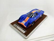 1969 Mclaren M6 GT Gulf Edition in 1:18 Scale by Tecnomodel