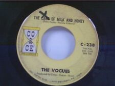 """VOGUES """"THE LAND OF MILK AND HONEY / TRUE LOVERS""""  45"""