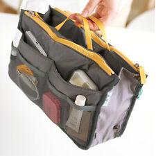 Removable Handbag Large Organiser Insert Bag-in-Bag Tidy Travel UK Seller Grey