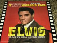 Elvis Presley It happened At The Worlds Fair Original LP LPM-2697 NM ! Sealed Re