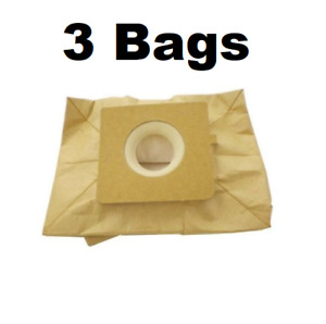 (3) Vacuum Bags for Bissell Canister Zing 22Q3 2037500, 2037960, 77F8