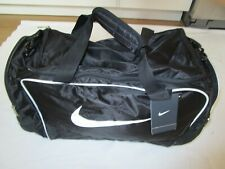 NEW Nike Brasilia Training Travel Sport Weekend Duffel Bag Pack Black Medium Gym