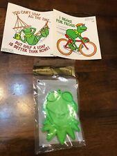 Vintage 1981 Hallmark Kermit The Frog Lot Of 3