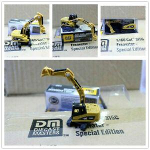 1:160 N Scale Miniature Excavator Engineering Vehicle Diecast Mini Truck Model