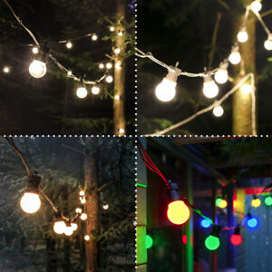 5m ConnectPro Connectable Outdoor LED Festoon Lights | Garden Party BBQ