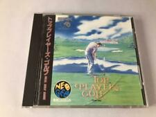SNK Top Player's Golf Neo Geo CD Golf Game Japanese Retro game Used from Japan