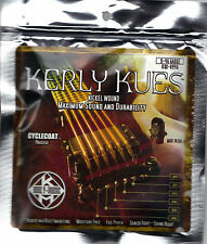 New: KERLY KUES - ELECTRIC GUITAR STRINGS: 9-46 GAUGE (NICKEL) RUST INHIBIT SEAL