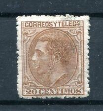 1879.ESPAÑA.EDIFIL 203 .nuevo.firmado Cajal.catalogo