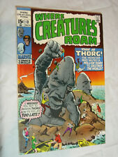 Where Creatures Roam #3 VG this is Thorg !