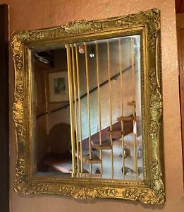 WANDSPIEGEL BAROCK Goldrahmen 65x75