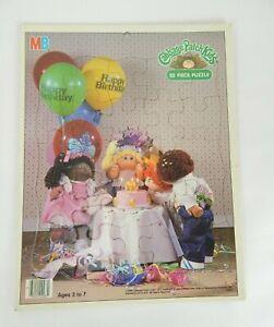 Cabbage Patch Kids 1984 Milton Bradley 25 Jigsaw Puzzle Birthday Party #4483-2
