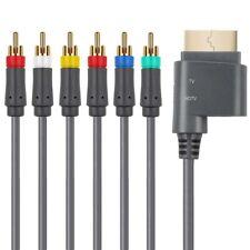 HD TV Component Composite Audio Video AV Cable Lead Cord for Microsoft Xbox 360