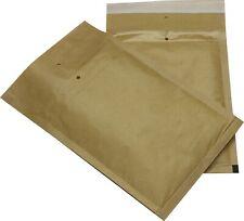 100 St Luftpolster Versandtaschen Gr 3 C braun 150x215 Briefumschläge DINA5 B6+