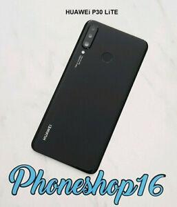 Original Huawei P30 Lite Akkudeckel Deckel Touch ID Linse Backcover Schwarz B