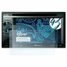 Bruni 2x Schermfolie voor Pioneer AVH-2400BT Screen Protector Displaybeveiliging