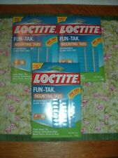 LOCTITE FUN-TAK MOUNTING TABS-80 NON-TOXIC TABS-3 PACK