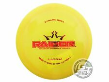 New Dynamic Discs Lucid Raider 168g Yellow Red Foil Distance Driver Golf Disc
