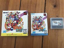 Puzzle Link US Version für Neo Geo Pocket Color - CIB, top Zustand