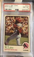 NICE 1973 O-Pee-Chee DICK ALLEN #310 PSA 8 NM-MT OPC Rare Low Population