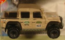 Hot Wheels '15 Land Rover Defender double cab tan 2018 New Model #31/365