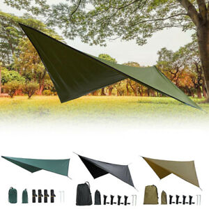 Sun Shade Tent Tarp Shelter Awning Canopy Waterproof for Outdoor Camping Beach