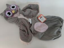 NWT Pottery Barn Kids Baby Gray Owl costume 3-6 months Halloween