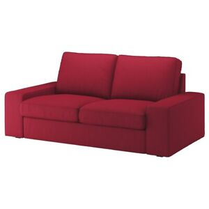 Brand New IKEA KIVIK Loveseat Cover Orrsta Red 504.139.27