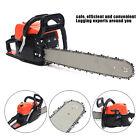 52cc 3000W Gas Powered Chainsaw 20'' 2 Stroke Cutting Wood Gasoline Chain Saw