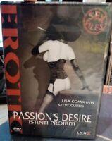 PASSION'S DESIRE - Istinti proibiti - Edizione VENDITA, DVD nuovo sigillato