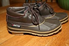 """**MINT Baffin """"Whitetail"""" rubber/leather 3 SEASON boots, Women's US 6 DUCK BOOTS"""