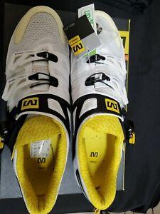 Mavic Zxellium road cycling bicycle racing shoe 9.5/431/2 white