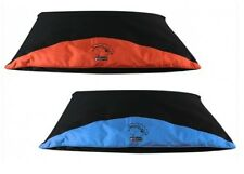 Sweet Dreams Waterproof Pet Dog Pillow Medium 85cm X 55cm Blue or Orange Blue