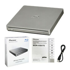 Pioneer BDR-XS07S Portable 6X Blu-ray Burner External Drive with USB Cable