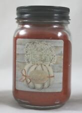 Crossroads Designs Blossom Bucket Autumn Jar Candle Pumpkin Clove NEW