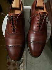 Mens Allen Edmonds Brown Leather Size 11