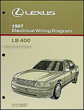 1997 Lexus LS 400 Wiring Diagram Manual NEW Original LS400 OEM Electrical Book