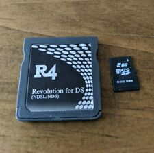 R4 DS Game card with 2GB micro SD and 20 games