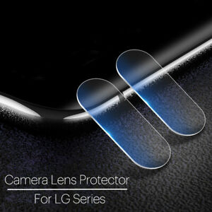 For LG G8 7 6 V50 40 30 Clear 9H Tempered Glass Rear Camera Lens Protective Film