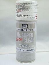 New Mr Hobby Mr Super Clear FLAT UV Cut B-523 170ml Spray sealer US seller HTF