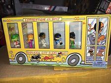 VHTF San Diego Comic Con SDCC 2012 DC Comics TINY TITANS Convention 5 Pack Bus