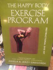 The Happy Body Exercise Fitness Program: Instructional DVD Set Sealed NEW