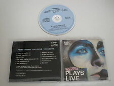 Peter gabriel/plays Live (pgdlcd 1) CD album