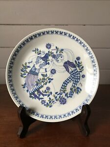 Vintage Figgjo Norway Lotte Turi Design Entree/Salad Plate Made In Norway