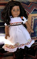 American Girl Doll Truly Me #26-Brown Curly Hair and Amber Eyes- Pierced Ears!