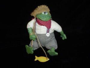 Russ Berrie Mr. Tadpole Frog Critter Factory 7 inch